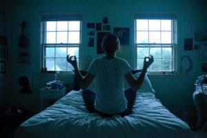 méditez avant de dormir