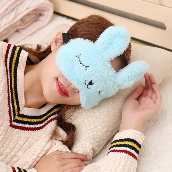 masque pour dormir lapin
