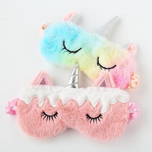 Masque pour dormir licorne